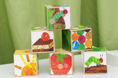 The Very Hungry Caterpillar Blocks. $15.00, via Etsy.