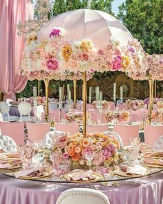Shower Party Decoration Ideas Love these umbrella centerpieces. Perfect for an afternoon or garden wedding or baby shower.Love these umbrella centerpieces. Perfect for an afternoon or garden wedding or baby shower. Fake Flower Centerpieces, Umbrella Centerpiece, Baby Shower Centerpieces, Baby Shower Decorations, Wedding Centerpieces, Wedding Table, Wedding Decorations, Garden Wedding, Centerpiece Ideas