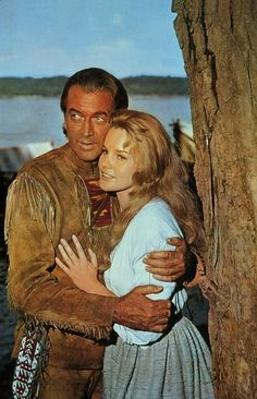James Steward and Carrol Baker in How the West Was Won (1962) byJohn Ford