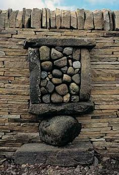 'sheep fold' by brit artist andy goldsworthy