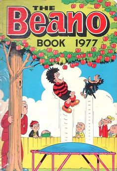 Beano Book: So looked forward to this (and the Dandy Book) every year!