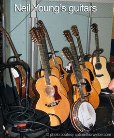 Neil Young's guitars