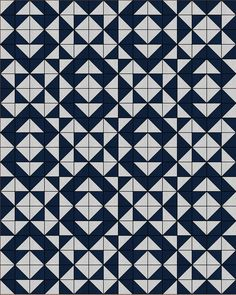 Aztec Quilts are become more and more popular too! Using half square triangle methods while forming to different blocks will give you thi...