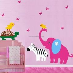 A Animals Paradise Kid Wall Decals