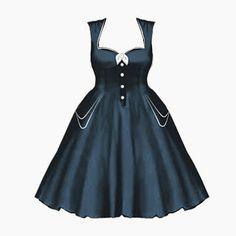BlueBerryHillFashions: Plus Size Rockabilly Dress Designs | New | Cute Summer Styles