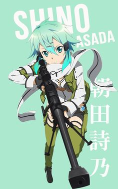 Shino Asada (Sinon) ~ Korigengi | Wallpaper Anime