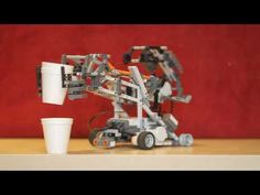 Lego NXT GrabBot.