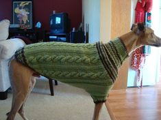 Knitting Patterns For Greyhound Dogs : 1000+ images about Knitted Dog Sweaters on Pinterest Dog sweaters, Dog swea...