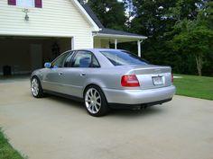 1999 Audi A4 1.8T Quattro Desktop Wallpaper