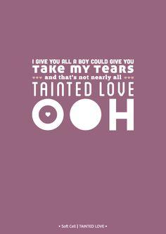 #Love #Lyrics #SoftCell