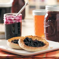 Cinnamon Blueberry Jam Recipe from Taste of Home