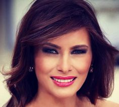 Melanie Trump our Elegant First Lady Donald Trump Family, Donald And Melania Trump, First Lady Melania Trump, Trump Melania, Melina Trump, Melania Knauss Trump, Trump Picture, American First Ladies, Trump Face