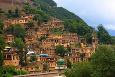 Village in Northeastern Iran , Masuleh you will love it if you go there..