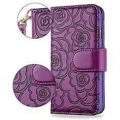 Samsung Galaxy Luxury Leather Wallet Case With Card Slots Deep Purple Galaxy S8, Samsung Galaxy, Deep Purple, Leather Wallet, Wallets, Notebook, Luxury, Garden, Ebay