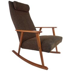 Danish Rocking Chair | From a unique collection of antique and modern rocking chairs at http://www.1stdibs.com/furniture/seating/rocking-chairs/