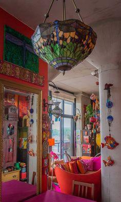 Karen's Color Explosion — House Tour   Apartment Therapy