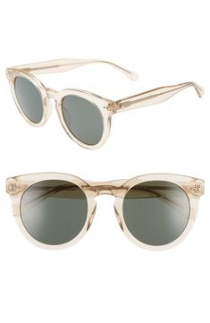 989563fe894 Free shipping and returns on kate spade new york alexuss 50mm round  sunglasses at Nordstrom.