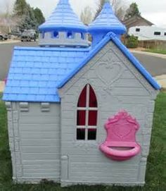 disney princess playhouse - Yahoo Image Search Results Princess Playhouse, Yahoo Images, Play Houses, Image Search, Shed, Outdoor Structures, Disney Princess, Outdoor Decor, Coops