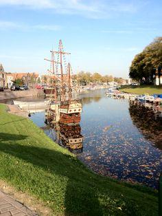 Brielle in Zuid-Holland