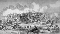 The King's Dragoon Guards close in on Tartar cavalry near Peking, during the Second Opium War.
