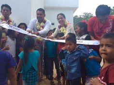 Proyectos de la CDI benefician al Municipio de Santos Reyes Nopala