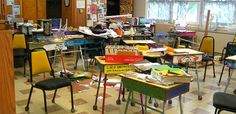 Why learning should be messy (this makes me feel so much better about my classroom!)