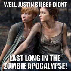 TWD. Haha I didn't realize she looked like him lol till now