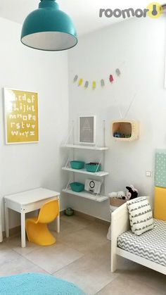Gray Boys' Room Ideas 59