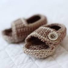 crochet baby sandals - Google Search