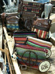 Love it! ... Leather handbags - The Sak