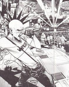 Punk Rock Jesus, Sean Murphy, 2012.