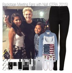 """""""Backstage Meeting Fans with Niall (OTRA 2015)"""" by elise-22 ❤ liked on Polyvore featuring moda, Topshop, Calvin Klein Jeans, ONLY, Converse, Stila, shu uemura, NARS Cosmetics, Wet n Wild e Agonist"""