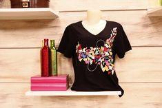 Arte Brasil | Camiseta com Fast Patch - Valéria Souza