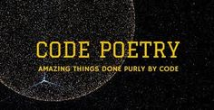Image result for code poetry