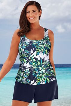 e218d8c982 Lulav Classic Shortini Sale Of The Day, Swimsuits For All, Size 14, Tankini