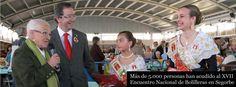 Más de 5.000 personas han acudido al XVII Encuentro Nacional de Bolilleras en Segorbe