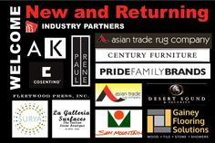 Welcome New/Returning ASID Industry Partners: AK Studio, Kitchens/Baths; Asian Trade Rug Company, Carpets/Rugs; Century Furniture, Furniture/Accessories; Cosentino USA, Granite/Quartz; Desert Sound & Security, Audio-Video/Electronics; Fleetwood Press, Inc, Commercial Printing; Gainey Flooring Solutions, Flooring/Tile; La Galleria Surfaces, Marble/Granite/Stone; Paul Rene Custom Furniture & Cabinetry, Custom Cabinetry/Furniture; Pride Family Brands, Outdoor Furniture; Sun Mountain Door…