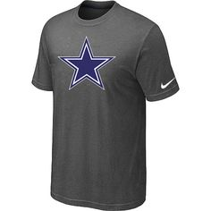 Nike Dallas Cowboys Sideline Legend Authentic Logo Dri-FIT NFL T-Shirt - Dark Grey Sale