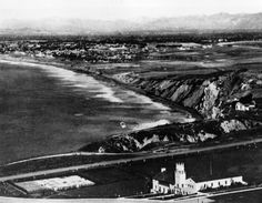 A 1920's photo of the South Bay from Palos Verdes,California. Unknown photographer.