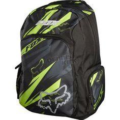 Fox Racing Green Kicker Backpack ATV Dirt Bike - Dennis Kirk, Inc