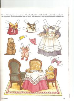 Sew Beautiful paper doll Penelope 2 | Flickr - Photo Sharing!