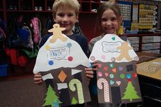 """Use this activity with the book - """"The Gingerbread Baby"""". Holiday Crafts For Kids, Preschool Christmas, Christmas Activities, Christmas Projects, Preschool Crafts, Kids Christmas, Holiday Fun, Classroom Activities, Gingerbread Man"""