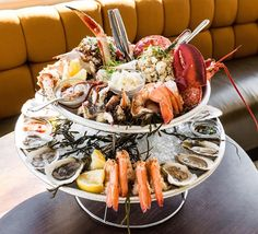 The State of Grace seafood tower ($149).