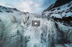 """A view of Gullfoss one of Iceland most famous waterfalls...    """"Waterfall located in the canyon of Hvítá river in southwest Iceland. Gullfoss is one of the most popular tourist attractions in Iceland. The wide Hvítá rushes southward""""    Shot with TBS Discovery Pro with Gorpo 4 Black Edition"""