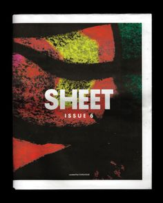 We're pleased to announce that we curated the most recent edition of SHEET Magazine for Urban Outfitters Europe, featuring a bunch of friends and peoples work that we enjoy. We will have a full project profile on our website soon, but here is some further reading.