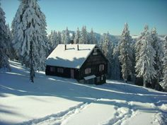 Prejba Chalet, m, Lotru Mountains - Muntii Lotrului Romania, Trekking, Winter Wonderland, Mountains, Landscape, The Originals, Country, House Styles, Amazing