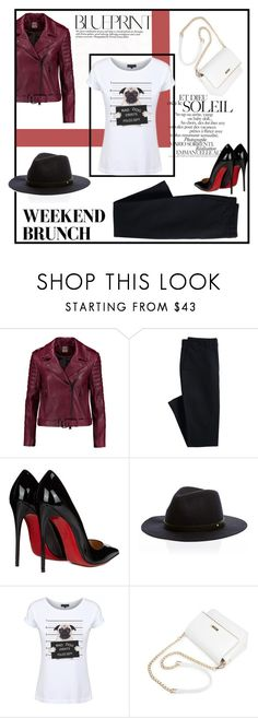 """""""Dead Legacy: Weekend Brunch"""" by dead-legacy ❤ liked on Polyvore featuring Haute Hippie, Canvas by Lands' End, Christian Louboutin, Dead Legacy, tshirts and deadlegacy"""