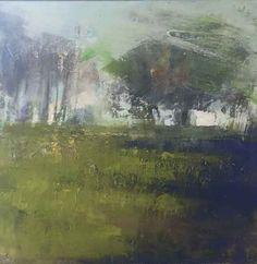Hannah Woodman - Blue Shadows, Corner of the Field