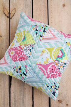 Soulful Eyes: Dreamscape Pillow Free Pattern is perfect for any fabric collection - even your scraps!