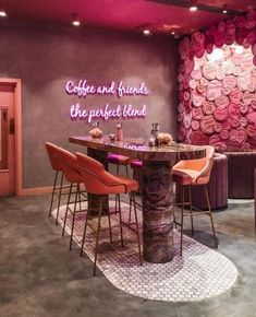 best office decor you need to have in your space 25 Salon Interior Design, Restaurant Interior Design, Bohemian Interior Design, Modern Restaurant, Bar Interior, Coffee Shop Design, Cafe Design, Design Design, Cake Shop Design